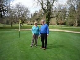 Ann & Austin at Coollattin Golf Club